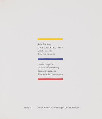 Tomasello Luis R., Folder. Un elegio del tres