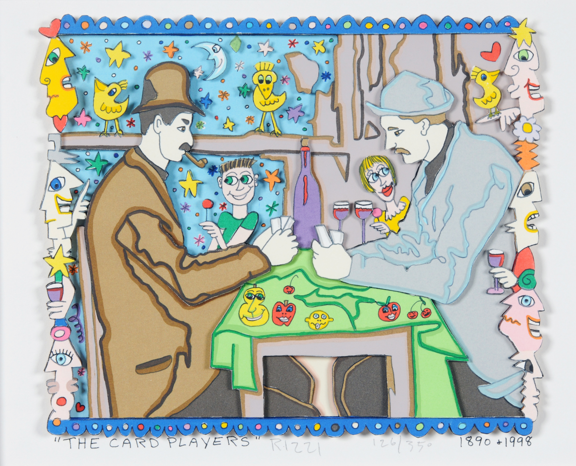 Rizzi James, The Card Players