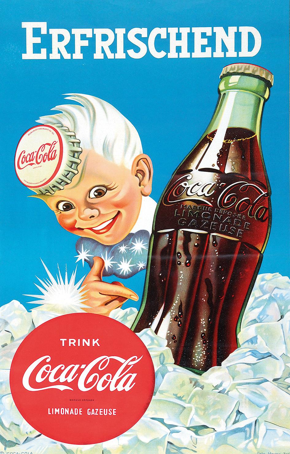 Anonym 20. Jh., Erfrischend Coca Cola