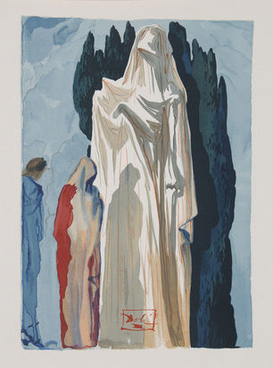 Dalí Salvador, Portfolio. Die Göttliche Komödie
