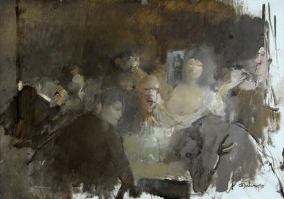 Bachmann Otto, Pub Scene