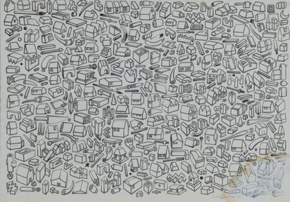 Bruhin Anton, Untitled - Symbols