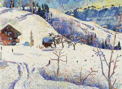 Buri Samuel, Habkern im Winter