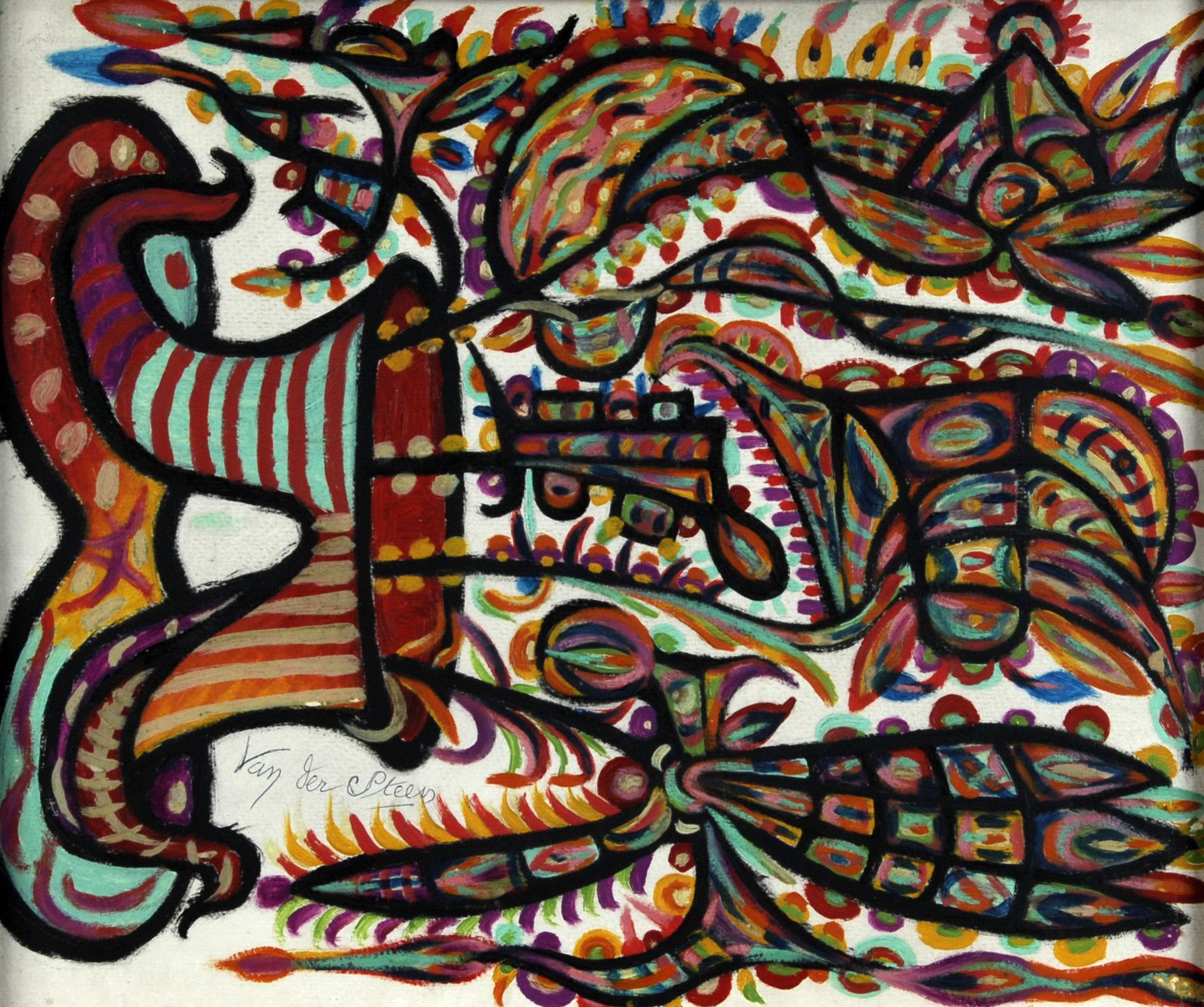 van der Steen Germain, Fleurs imaginaires