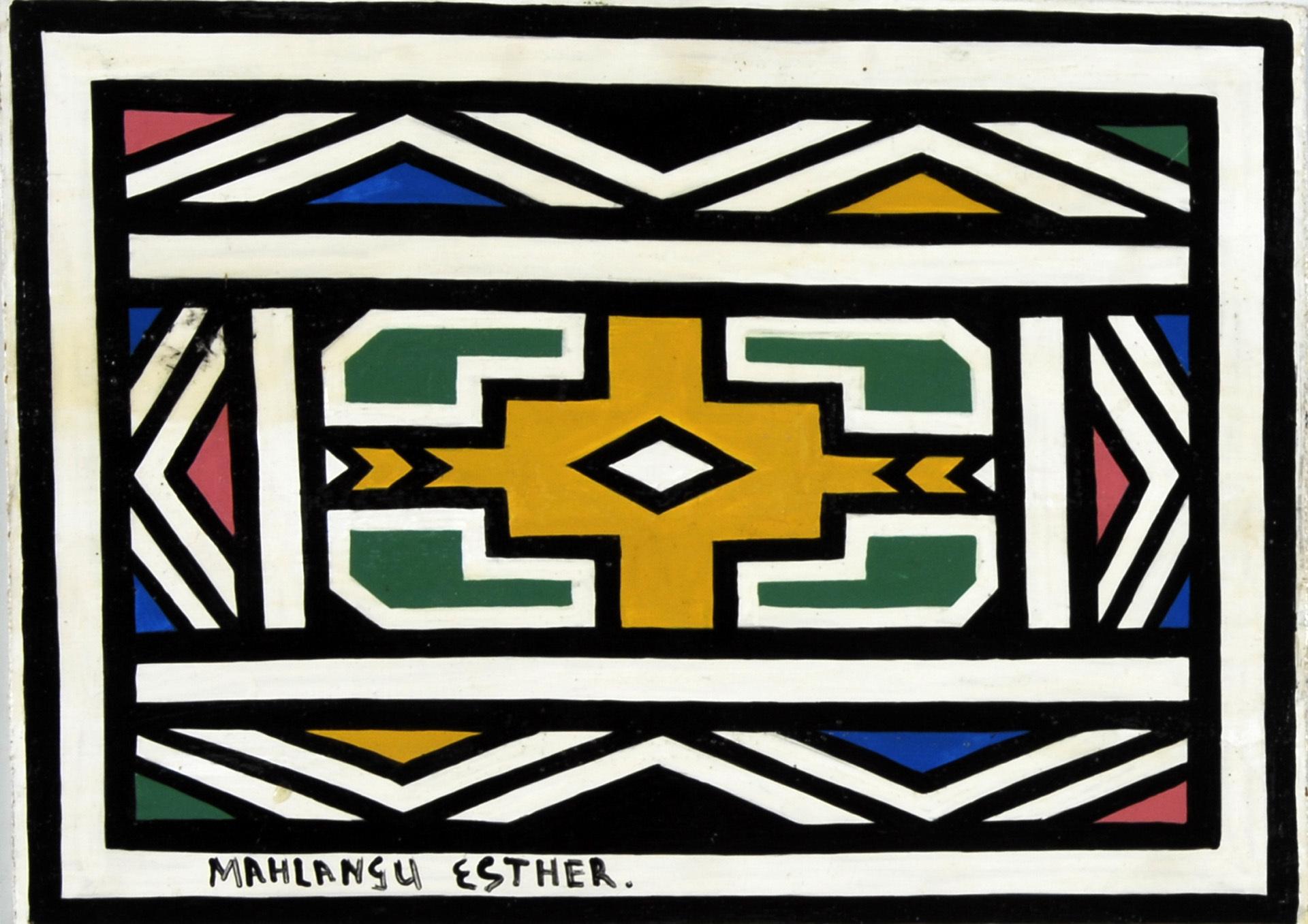 Mahlangu Esther, Untitled
