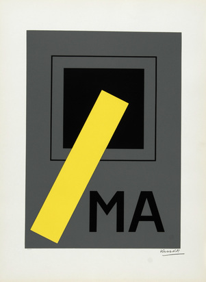 Vasarely Victor, Portfolio. V. Vasarely - Kassák, Kassák oeuvres de 1920 - 1930, Vasarely oeuvres de 1950 - 1960