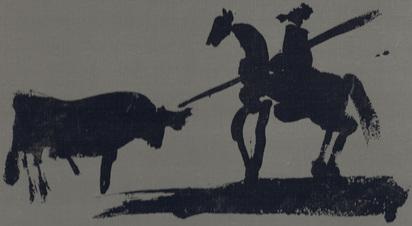 Picasso Pablo, Book. Jaime Sabartés. A los Toros avec Picasso