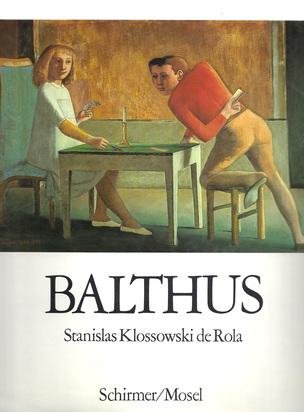 Balthus, 4 books: Stanislas Klossowski de Rola. Balthus, Painting