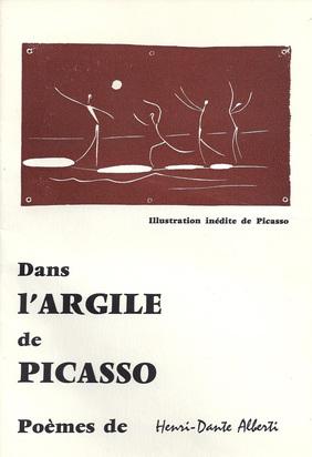 Picasso Pablo, Book. Dans l'Argile de Picasso
