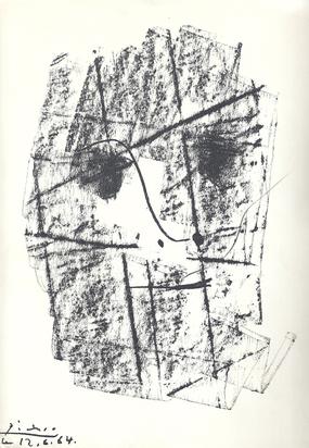 Picasso Pablo, Book. Werner Spiess. Pour Daniel-Henry Kahnweiler