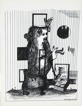 Kuhn Friedrich, Booklet. Ilja Ehrenburg. Die ungewöhnlichen Abenteuer des Julio Jurenito und seiner Jünger (Extraction)