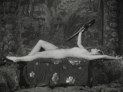 Johnston Alfred Cheney, Reclining Female Nude