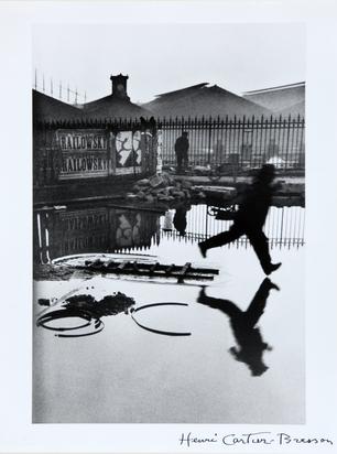 Cartier-Bresson Henri, Derrière la gare St. Lazare, Paris