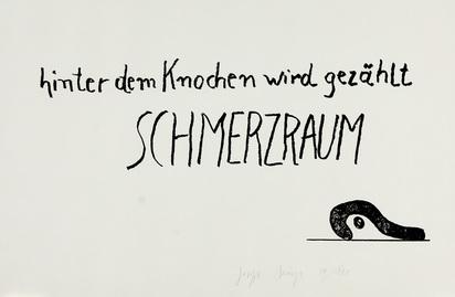 Beuys Joseph, Schmerzraum