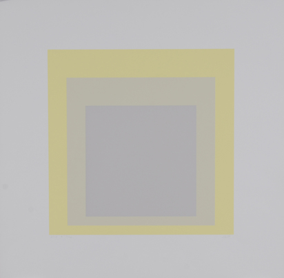 "Albers Josef, I-S e, from ""Homage to the Square"""