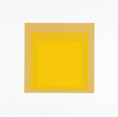 "Albers Josef, I-S, from ""Homage to the Square"""