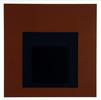 "Albers Josef, Attic, from ""Die Oberfläche"""
