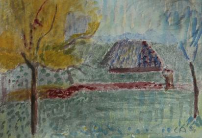 Amiet Cuno, Haus am Weiher