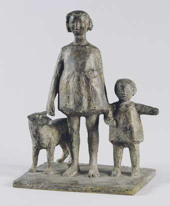 Brem Rolf, Group of Children with Dog