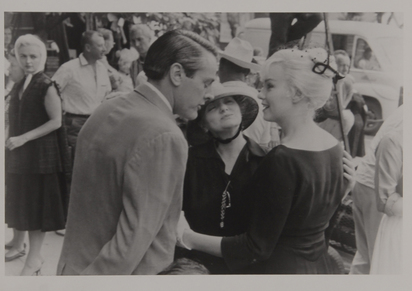 "Cartier-Bresson Henri, Marilyn Monroe at the Set of ""The Misfits"""