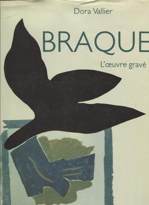 Braque Georges, 2 Werkkataloge: Fernand Mourlot. Braque Lithographe