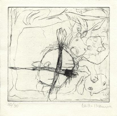 Konvolut, 8 Mappen: Internationale Triennale für Originalgrafik (5)