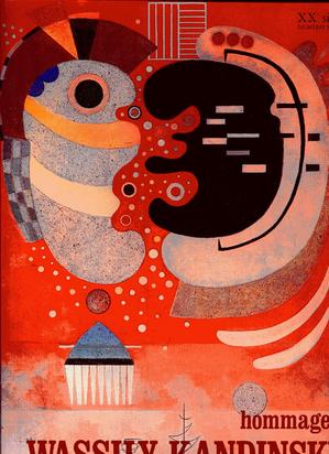 Kandinsky Wassily, Book. G. di San Lazzaro. Hommage à Wassily Kandinsky