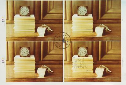 Beuys Joseph, 7 sheets: Unabhängig - Bürgerlich, 1974; Belfast 1975; Flug nach Amerika, 1974/84 (2); Hasengrab I, 1982; Wiedergeborene Höhlenmenschen, 1983; Klanggebilde, 1982