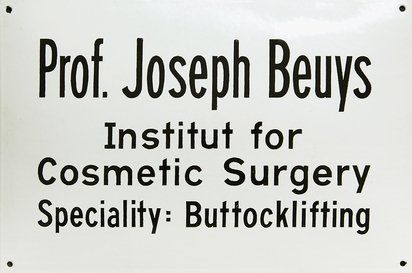 Beuys Joseph, Buttocklifting