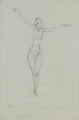Bauer Rudolf, Female Nude
