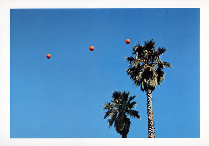 Baldessari John, Folder. Throwing three Balls in the Air to Get a Straight Line