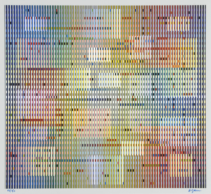 Agam Yaacov, Tapigraphie