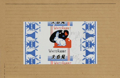 Beuys Joseph, 2 Blätter: Die Wärmezeitmaschine, 1975; chinesischer Hasenzucker, 1979