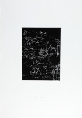 Beuys Joseph, Serie: Tafel I-III