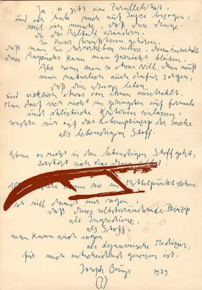 Beuys Joseph, Joyce mit Schlitten