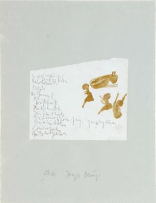 """Beuys Joseph, Kalb mit Kinder, aus """"Suite Schwurhand"""""""