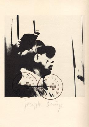 Beuys Joseph, 2 Blätter: Hauptstrom, 1973; L'udito, 1974