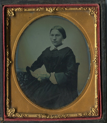 Daguerreotypie, Anonymous photographer. Portrait of a Woman