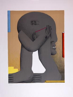 Antes Horst, Graue Figur, 1970