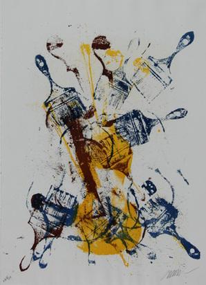 Arman, Sans titre, 1988