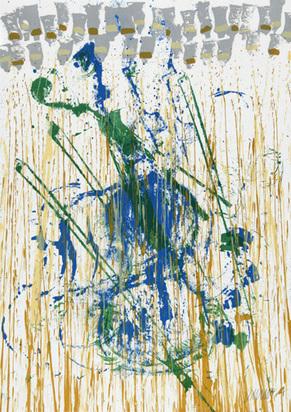 Arman, Sans titre, 1990