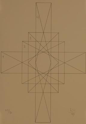 Bill Max, Portfolio. Vier quantengleiche variationen, 1989