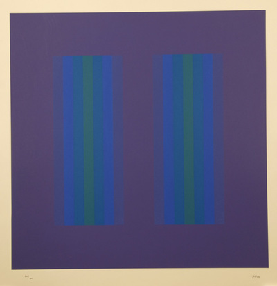 Bill Jakob, Violet Composition, 1973