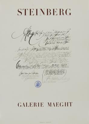 Ausstellungsplakate, 52 posters: Arman; G. Baselitz; J. Dubuffet; M. Dumas; H. Frankenthaler; A. Giacometti; M. Schwarz; R. Trockel etc.