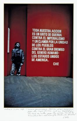Burri René, Ausstellung zum 20jährigen Todestag von Ernesto Che Guevara, Havanna