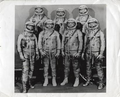 Anonym, 2 Fotografien: Project Mercury Astronauts, 1969; Apollo 11 Crew