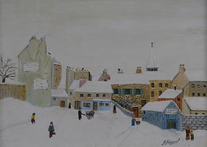 Hermel Michel, Village en hiver