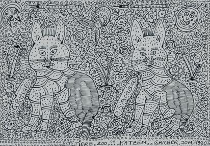 Garber Johann, Tiere, Zoo,..., Katzen