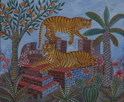 Plaskocinski Jan, Zwei Tiger