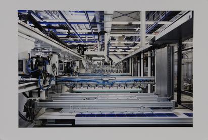 Struth Thomas, String Handling, SolarWorld, Freiberg